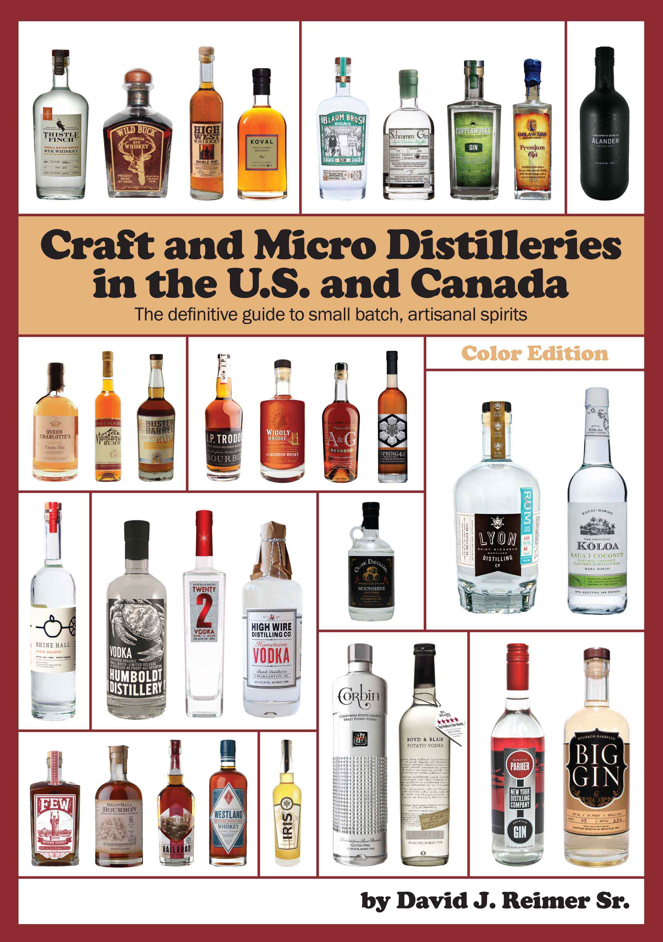 Cover of book Craft and Micro Distilleries in the U.S. and Canada